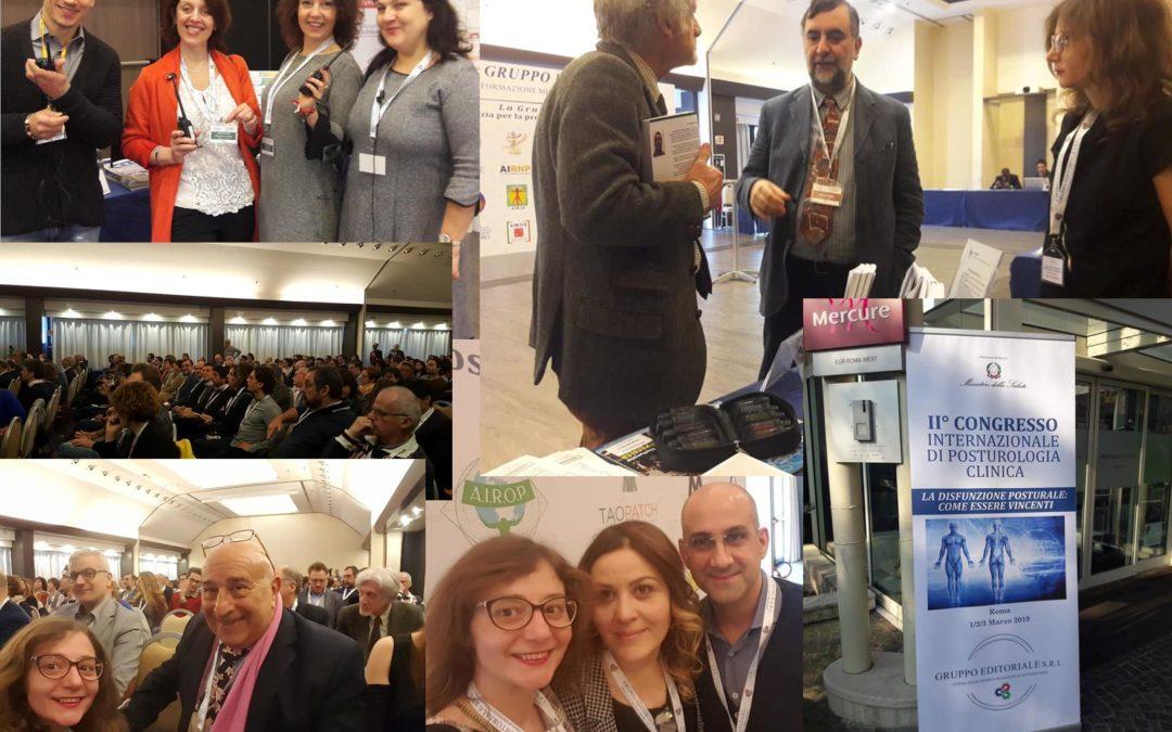 A.I.R.O.P. ed EDUCAM al 2° Congresso Internazionale di Posturologia Clinica